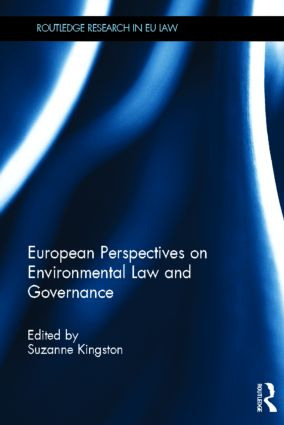 European Perspectives on Environmental Law and Governance (Hardback) book cover