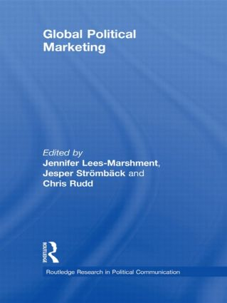 Global political marketing book cover