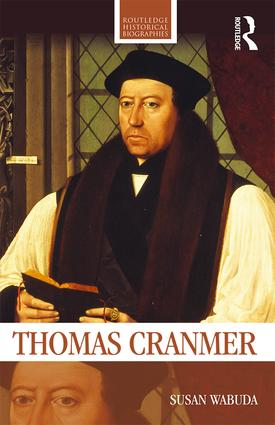 Thomas Cranmer book cover