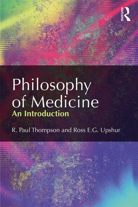 Philosophy of Medicine: An Introduction book cover
