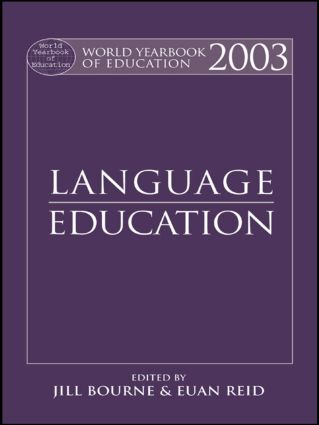 World Yearbook of Education 2003: Language Education book cover