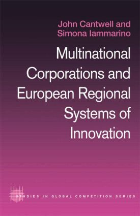 Multinational Corporations and European Regional Systems of Innovation: 1st Edition (Paperback) book cover