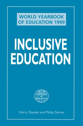 World Yearbook of Education 1999: Inclusive Education (Paperback) book cover