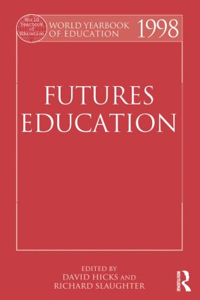World Yearbook of Education 1998: Futures Education book cover