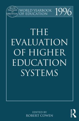 The World Yearbook of Education 1996: The Evaluation of Higher Education Systems, 1st Edition (Paperback) book cover