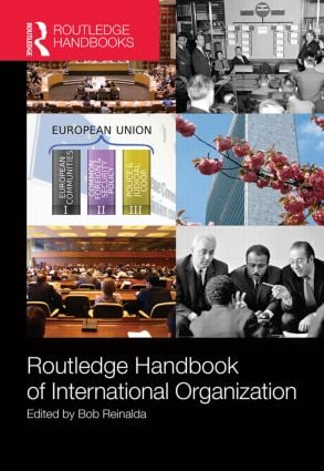 Routledge Handbook of International Organization (Hardback) book cover