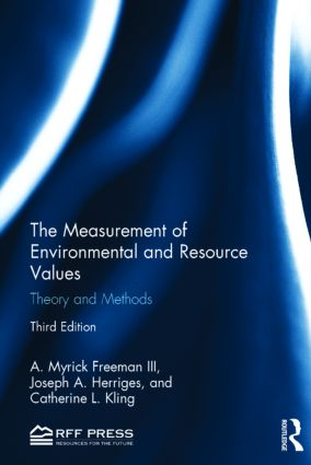 The Measurement of Environmental and Resource Values: Theory and Methods book cover
