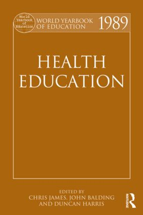 World Yearbook of Education 1989: Health Education (Paperback) book cover