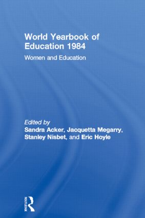 World Yearbook of Education 1984: Women and Education, 1st Edition (Paperback) book cover