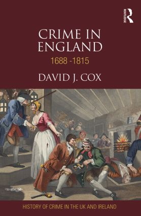 Crime in England 1688-1815 (Hardback) book cover