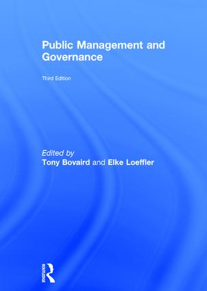Public Management and Governance: 3rd Edition (Hardback) book cover