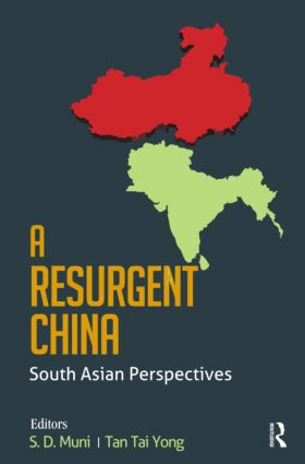 A Resurgent China: South Asian Perspectives (Hardback) book cover