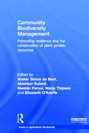 Community Biodiversity Management: Promoting resilience and the conservation of plant genetic resources book cover