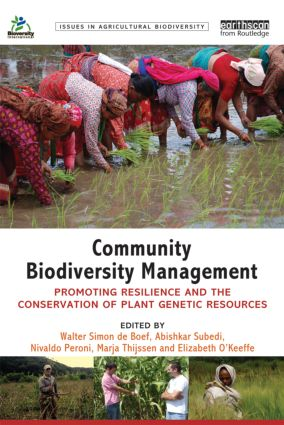 Community Biodiversity Management: Promoting resilience and the conservation of plant genetic resources (Paperback) book cover