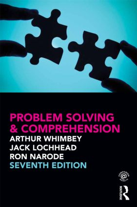 Problem Solving & Comprehension: 7th Edition (Paperback) book cover