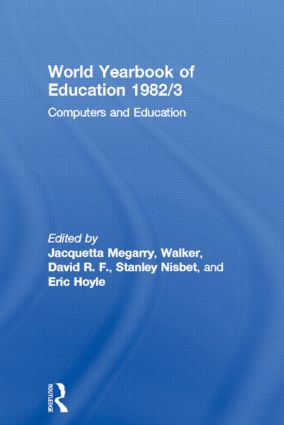 World Yearbook of Education 1982/3: Computers and Education, 1st Edition (Paperback) book cover
