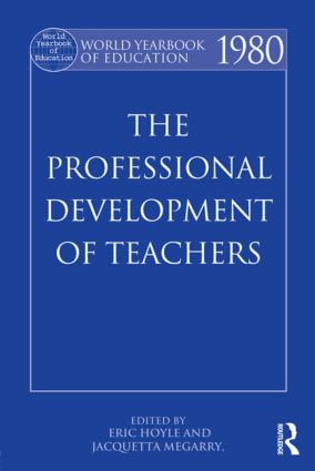 World Yearbook of Education 1980: The Professional Development of Teachers, 1st Edition (Paperback) book cover