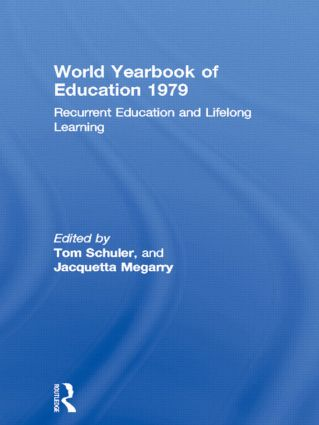 World Yearbook of Education 1979: Recurrent Education and Lifelong Learning, 1st Edition (Paperback) book cover