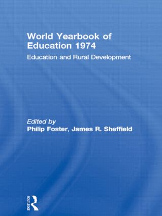 World Yearbook of Education 1974: Education and Rural Development, 1st Edition (Paperback) book cover