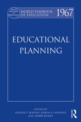 World Yearbook of Education 1967: Educational Planning, 1st Edition (Paperback) book cover