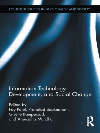 Information Technology, Development, and Social Change (Hardback) book cover