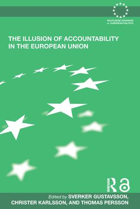 The Illusion of Accountability in the European Union (Paperback) book cover