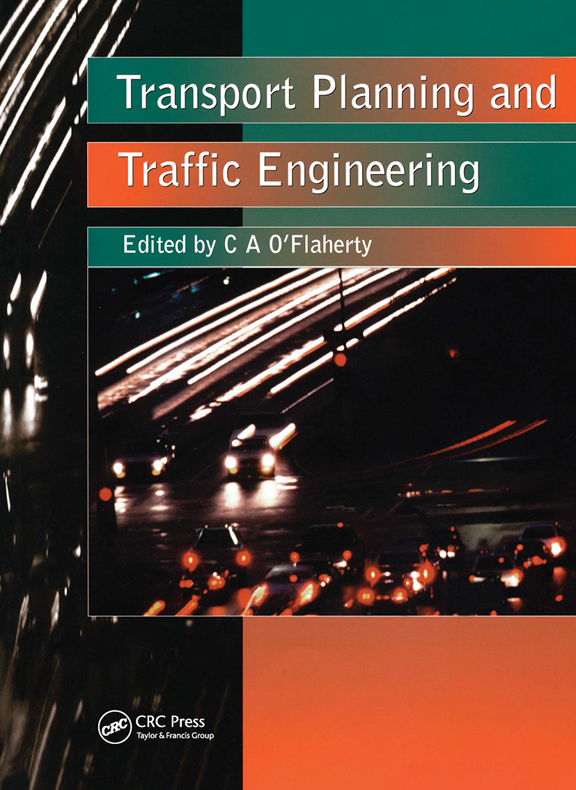 Transport Planning and Traffic Engineering: 1st Edition (Paperback) book cover