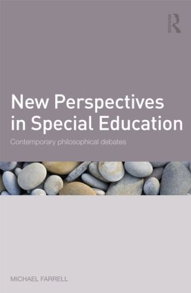 New Perspectives in Special Education: Contemporary philosophical debates (Paperback) book cover