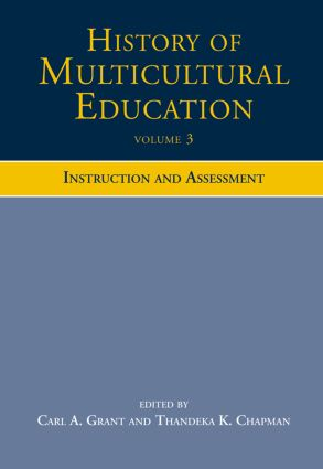 History of Multicultural Education: Instruction and Assessment (Paperback) book cover