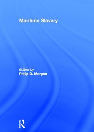 Maritime Slavery (Hardback) book cover