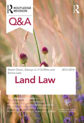 Q&A Land Law 2013-2014