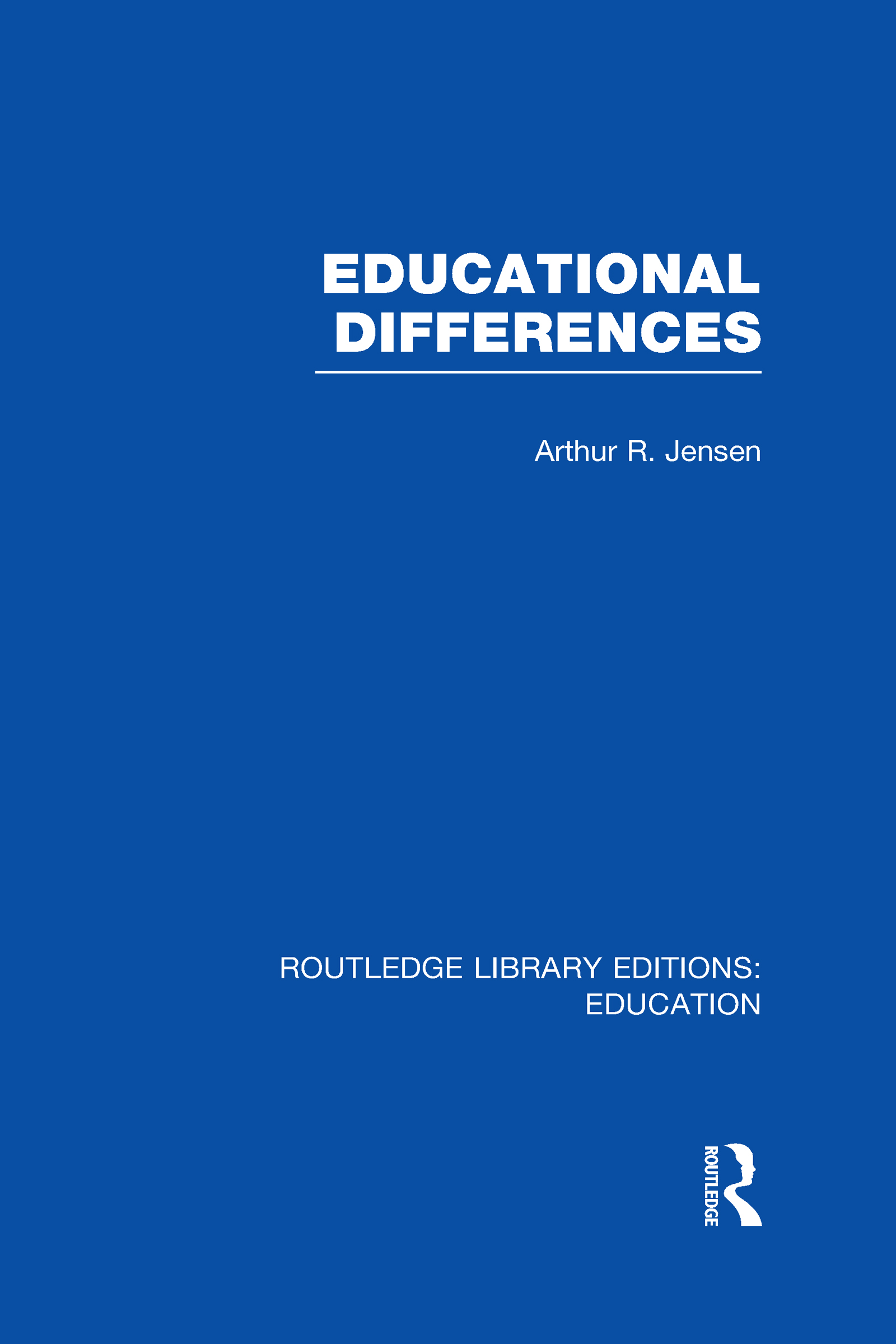 Educational Differences (RLE Edu L) (Hardback) book cover