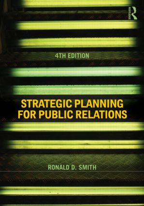 Strategic Planning for Public Relations: 4th Edition (Paperback) book cover