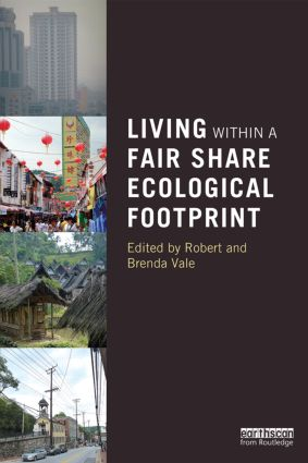Living within a Fair Share Ecological Footprint: 1st Edition (Paperback) book cover
