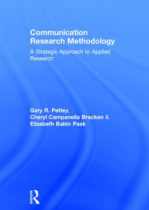 Communication Research Methodology: A Strategic Approach to Applied Research book cover