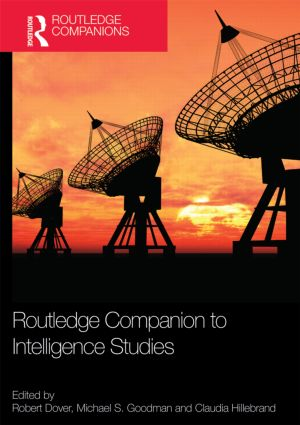 Routledge Companion to Intelligence Studies book cover