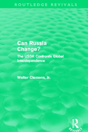 Can Russia Change? (Routledge Revivals)