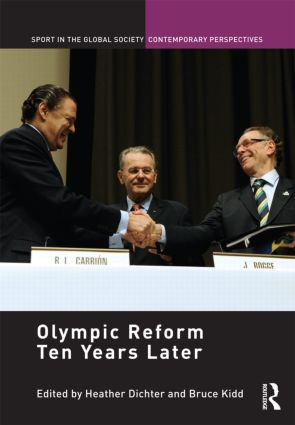Olympic Reform Ten Years Later (Hardback) book cover