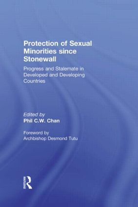 Protection of Sexual Minorities since Stonewall: Progress and Stalemate in Developed and Developing Countries, 1st Edition (Paperback) book cover