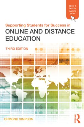 Supporting Students for Success in Online and Distance Education: Third Edition (Paperback) book cover