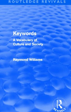 Keywords (Routledge Revivals)