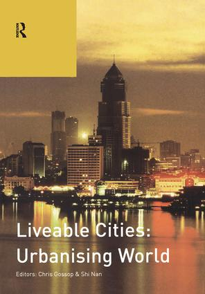 Liveable Cities: Urbanising World: ISOCARP 07 (Paperback) book cover