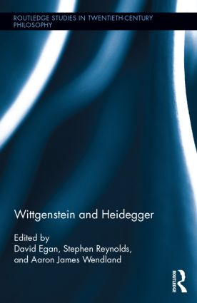 Wittgenstein and Heidegger (Hardback) book cover