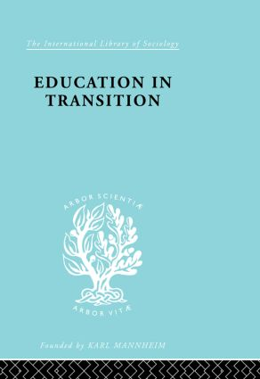 Education in Transition: An Interim Report (Paperback) book cover