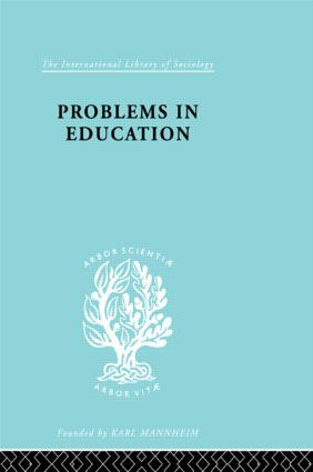 Problems In Education Ils 232 (Paperback) book cover