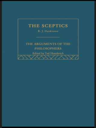 Sceptics-Arg Philosophers book cover