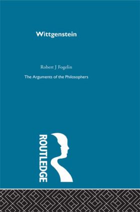Wittgenstein-Arg Philosophers: 1st Edition (Paperback) book cover