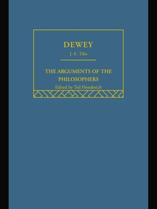 Dewey-Arg Philosophers (Paperback) book cover