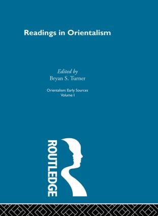 Readings Orient:Orientalsm V 1: 1st Edition (Paperback) book cover