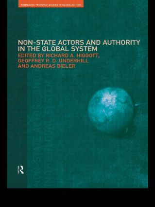 Non-State Actors and Authority in the Global System (Paperback) book cover
